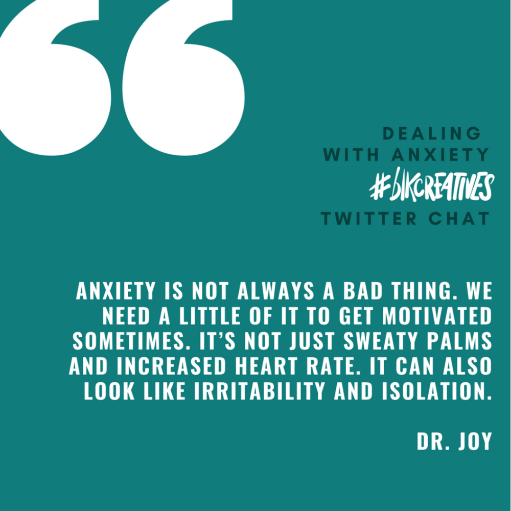therapy for black girls #blkcreatives Twitter chat Dr. Joy Harden 2