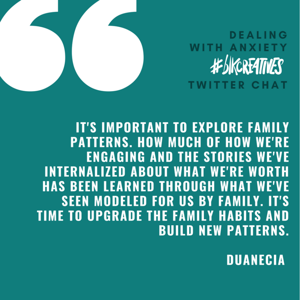 Duanecia Evans blkcreatives chat 3