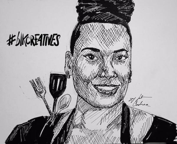Angela-Davis-The-Kitchenista-blkcreaatives-artwork