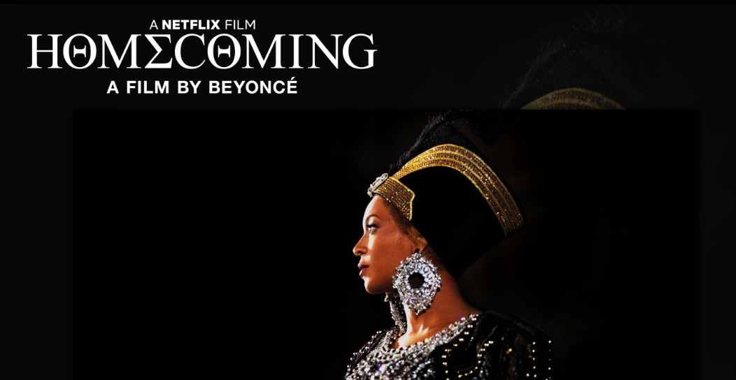 Beyoncé Homecoming Netflix Reminders for #blkcreatives