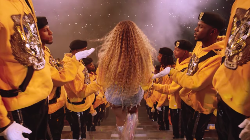 Beyoncé The band The Carters Homecoming #blkcreatives screenshot 2