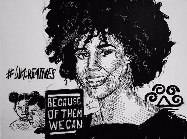 Eunique-Jones-Gibson-Because-of-Them-We-Can #blkcreatives-artwork- jonathan carradine