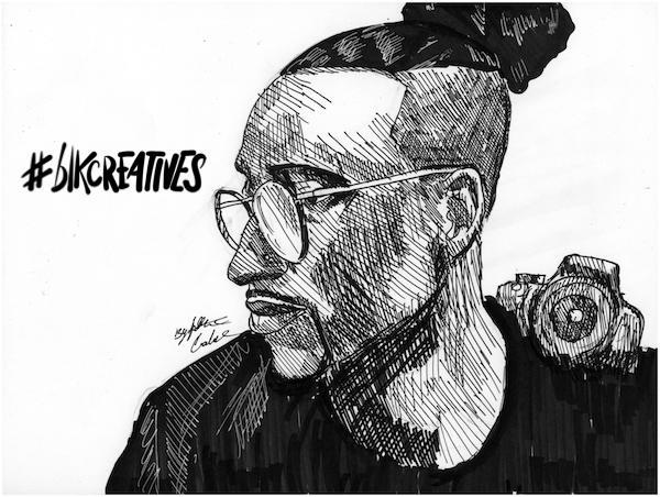 Joshua Kissi #blkcreatives artwork Jonathan Carradine