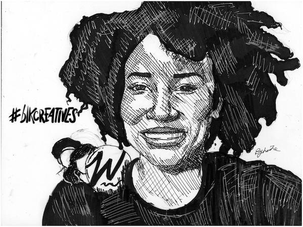 Krystal Scott The Well #blkcreatives artwork Jonathan Carradine