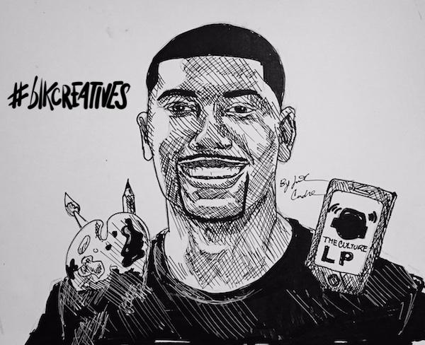 Mike-Tonge-The-Culture-LP- #blkcreatives-artwork Jonathan Carradine