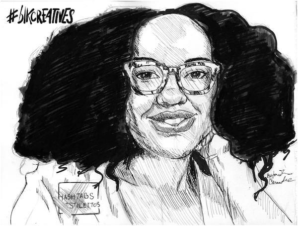 Sakita Holley blkcreatives artwork Jonathan Carradine