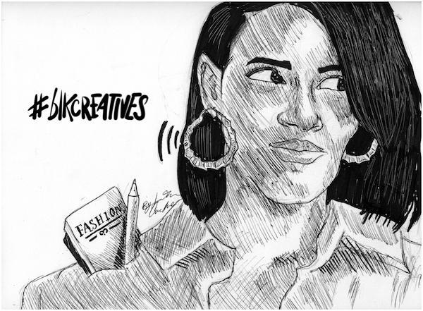 Shelby Ivey Christie #blkcreatives artwork Jonathan Carradine