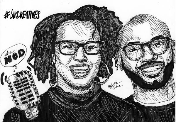 The Nod #blkcreatives artwork Jonathan Carradine