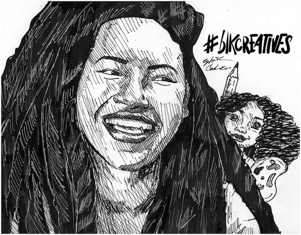 Yelitsa Healthy Roots Dolls #blkcreatives artwork Jonathan Carradine