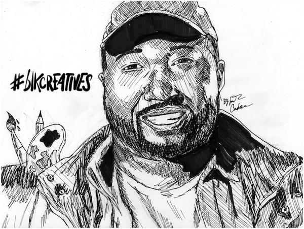 Marshall Shorts #blkcreatives artwork Jonathan Carradine