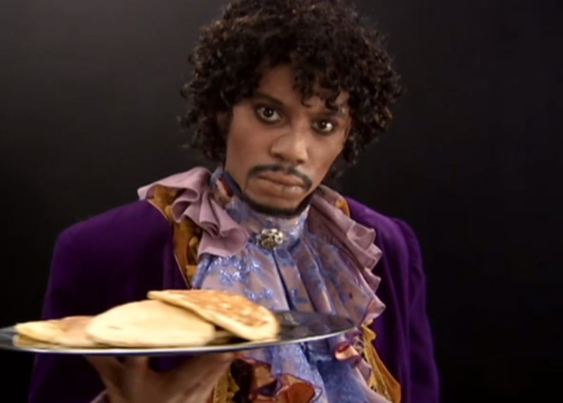 Dave Chappelle Pancakes #blkcreatives practice for creatives