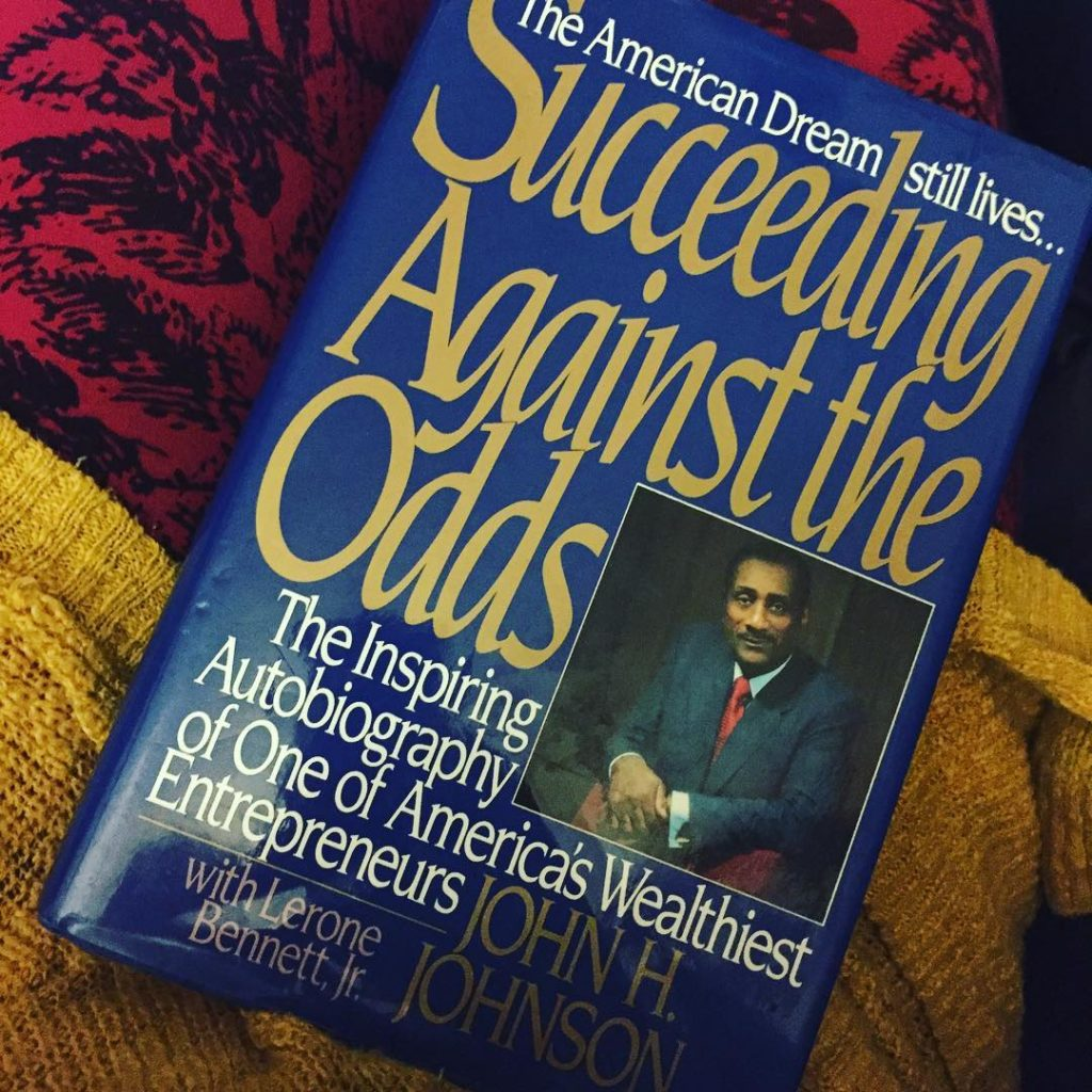 Succeeding-Against-The-Odds blkcreatives fall reading list john h. johnson