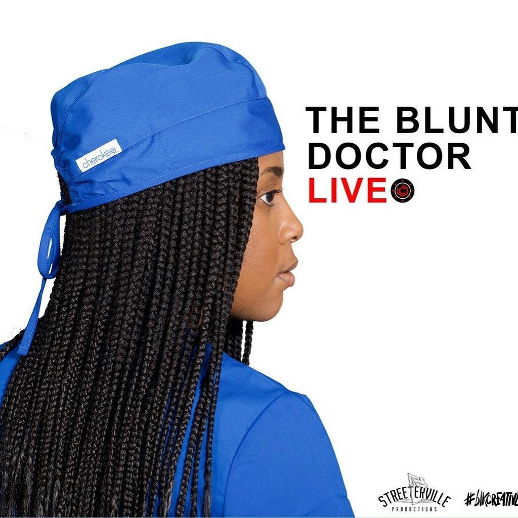 Lisa Beasley The Blunt Doctor #blkcreatives Twitch Show