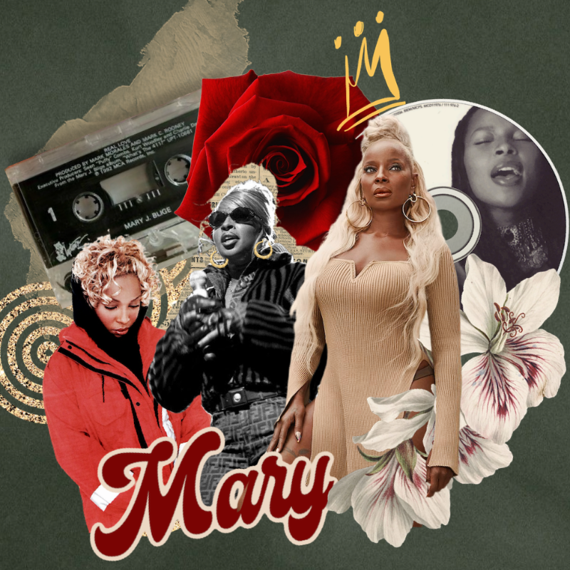 Mary J. Blige #ToMaryWIthLove art by Queen Loany