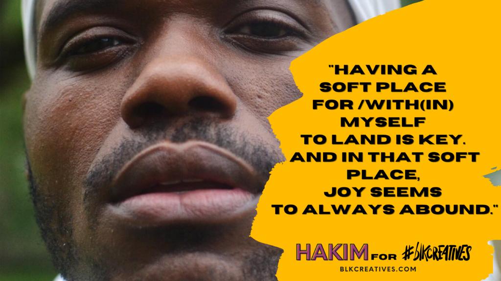 black joy #blkcreatives Twitter Chat Hakim Pitts