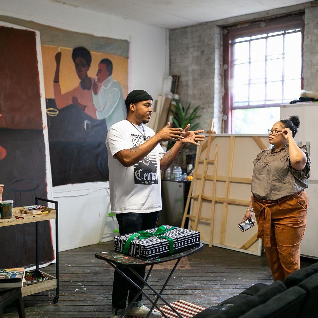 Atlanta The Culture LP #blkcreatives Patrick Eugène Square