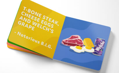 Everybody Eats book Notorious B.I.G - #blkcreatives